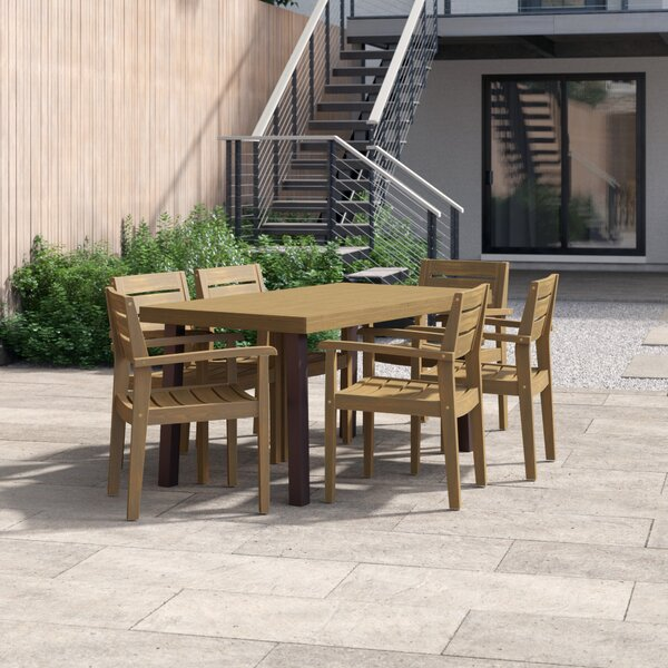Outdoor 7 Piece Dining Set by Foundstone