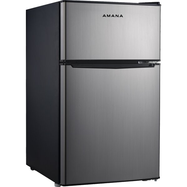3.1 cu. ft. Compact/Mini Refrigerator with Freezer by Amana