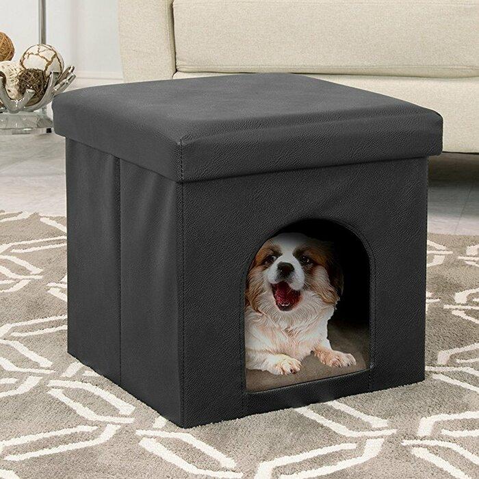 Cool Collapsible Pet House Storage Ottoman Inzonedesignstudio Interior Chair Design Inzonedesignstudiocom