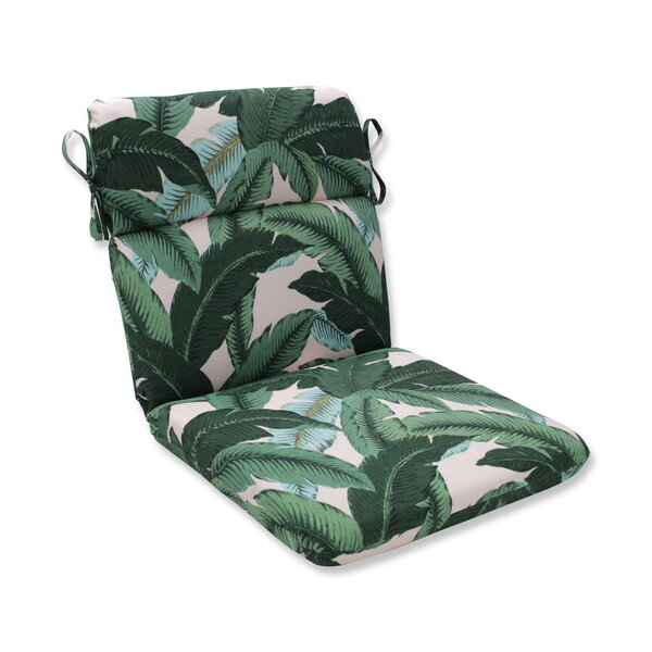 Swaying Palms Indoor/Outdoor Dining Chair Cushion by Bay Isle Home