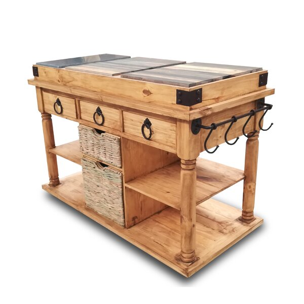 Colyt Kitchen Island by August Grove