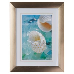 'Sea Glass Shells I' Framed Photographic Print by Highland Dunes