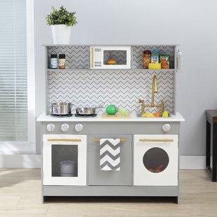 bermingham big play kitchen set by teamson kids - Kids Kitchen