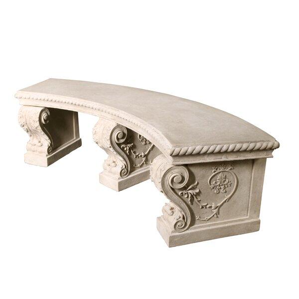 Stone Garden Bench by Design Toscano Design Toscano