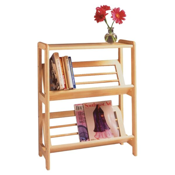 Basics Tilted Etagere Bookcase by Winsome