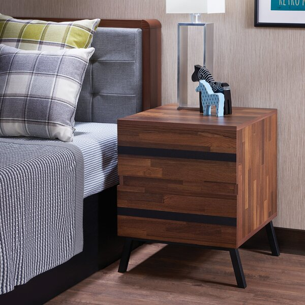 Rudgeway 2 Drawer Nightstand by Brayden Studio