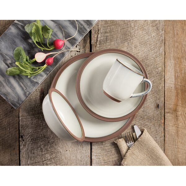 Eterra 16 Piece Dinnerware Set service for 4 by Sango