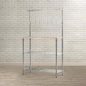 Shrewsbury u00c9tagu00e8re Steel Baker's Rack