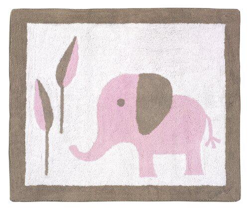 Elephant Kids Rug by Sweet Jojo Designs