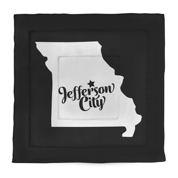 Jefferson City Missouri Single Reversible Comforter