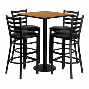 Pinckneyville 5 Piece Pub Table Set by Red Barrel Studio