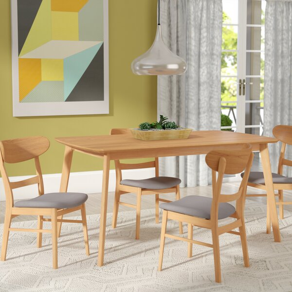 Looking for Yolanda 5 Piece Rubberwood Dining Set By Langley Street 2019 Online