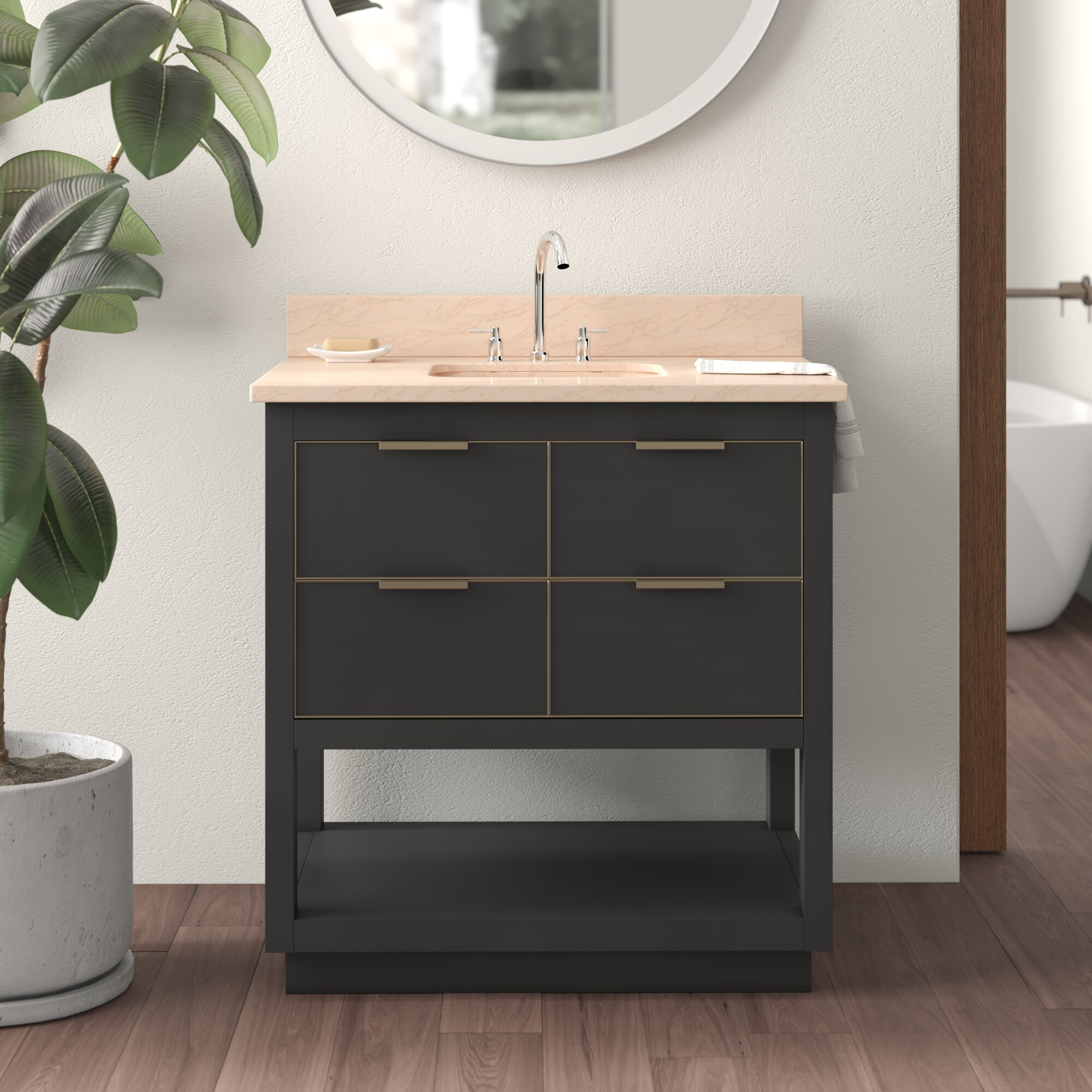 Edmund 31 Single Bathroom Vanity Set