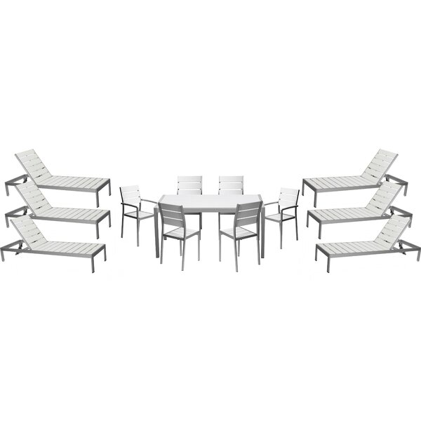 Kiera 13 Piece Complete Patio Set by Modern Rustic Interiors
