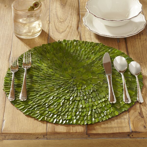 Preserved Boxwood Placemats (Set of 6) by Birch Lane™