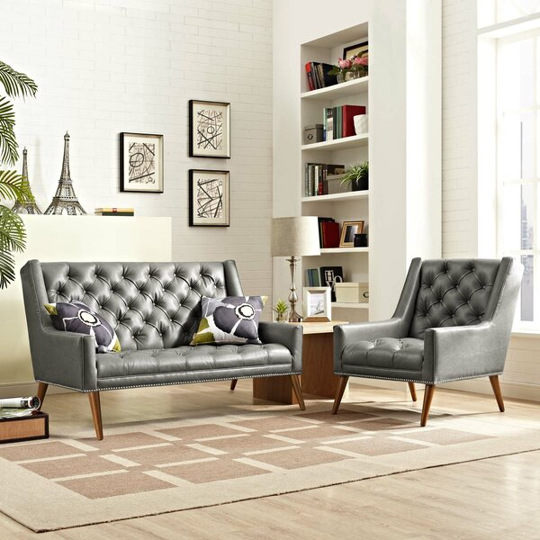Mcwilliams 2 Piece Living Room Set by House of Hampton