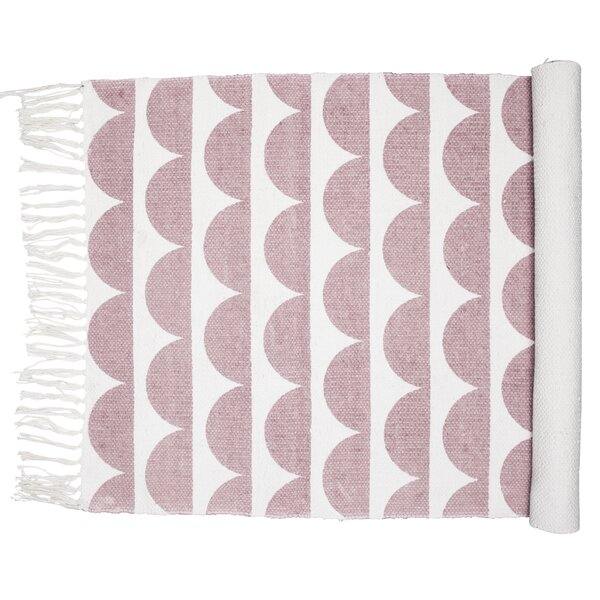 Nordic Icon Oslo Dusty Pink Area Rug by Eightmood
