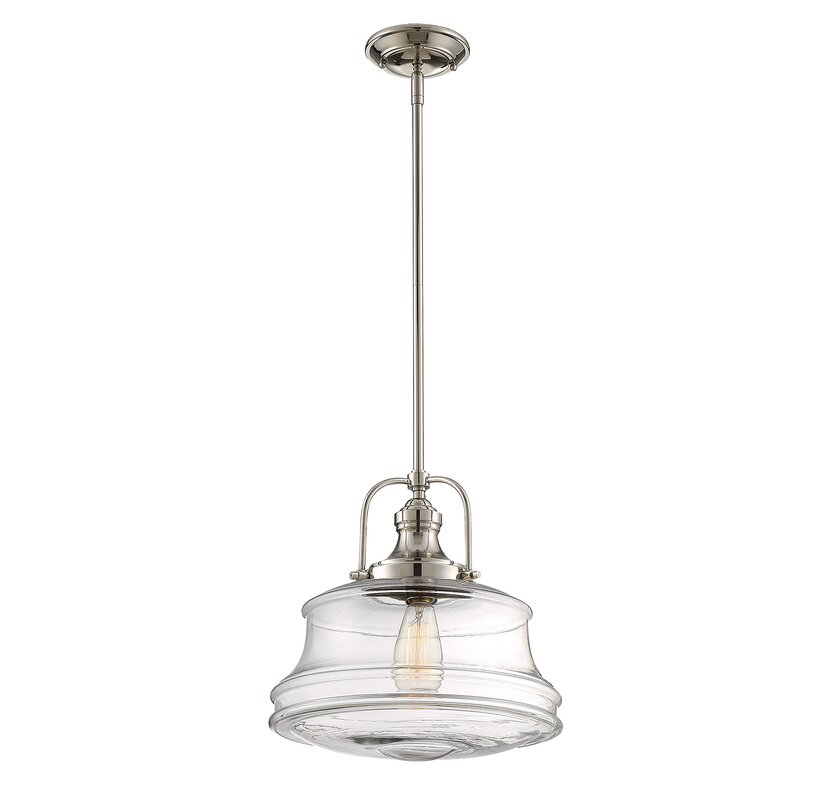 schoolhouse pendant light laurel foundry modern farmhouse nadine 1 light schoolhouse 10441