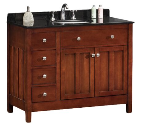 Adam 42 Single Bathroom Vanity Set by Ove Decors