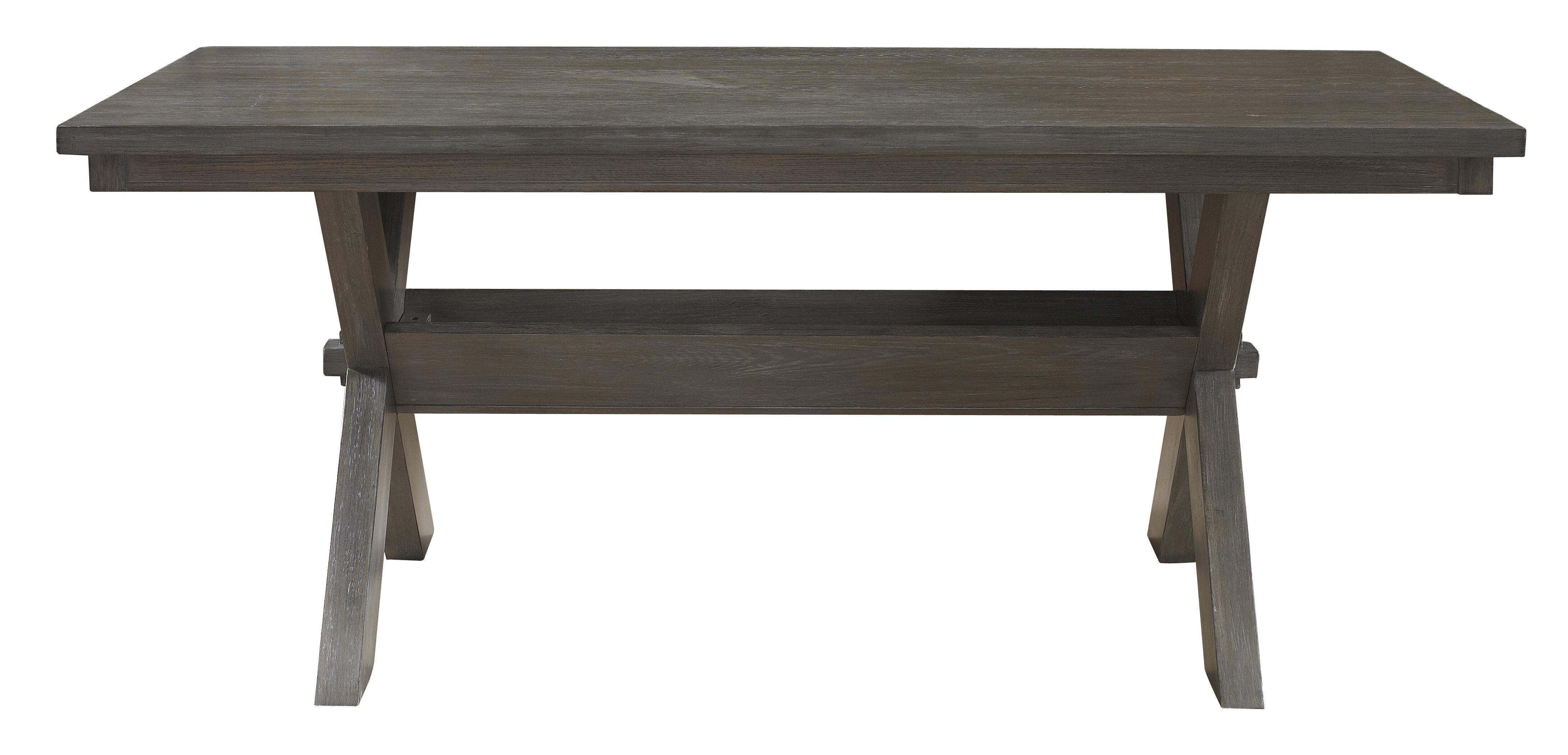 Lark manor quentin rectangular dining table reviews wayfair