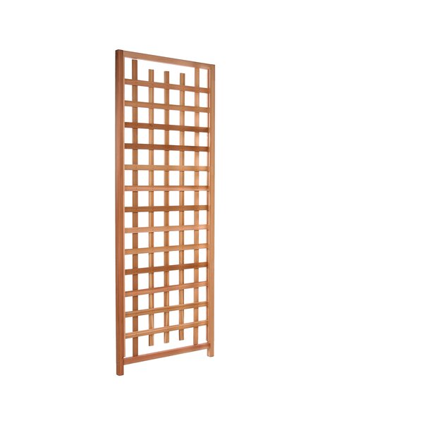 Western Red Cedar Lattice Panel Trellis by All Things Cedar
