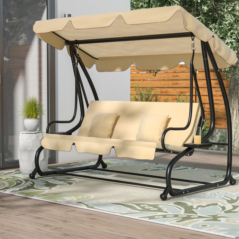 Marvale Porch Swing with Stand Latitude Run