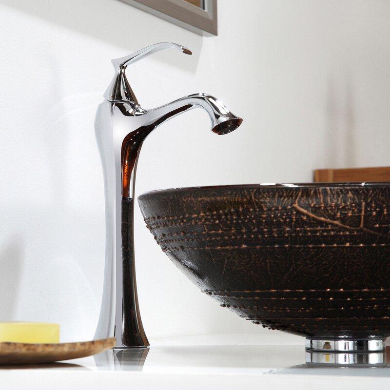Bathroom Faucets Knoxville Tn kraus ventus single hole single handle bathroom faucet with drain