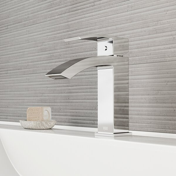 Satro Single Hole Bathroom Faucet by VIGO