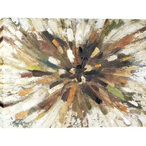 'Starburst' Painting on Wrapped Canvas by Latitude Run
