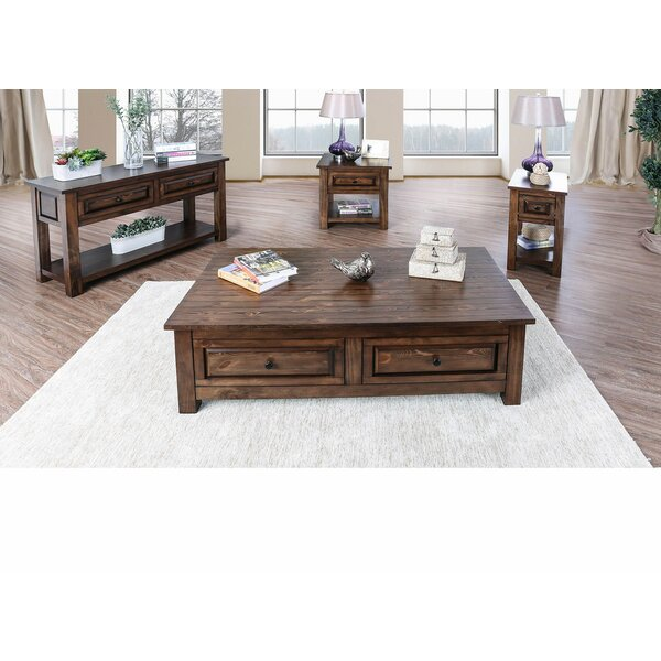 Zora 4 Piece Coffee Table Set by Loon Peak Loon Peak