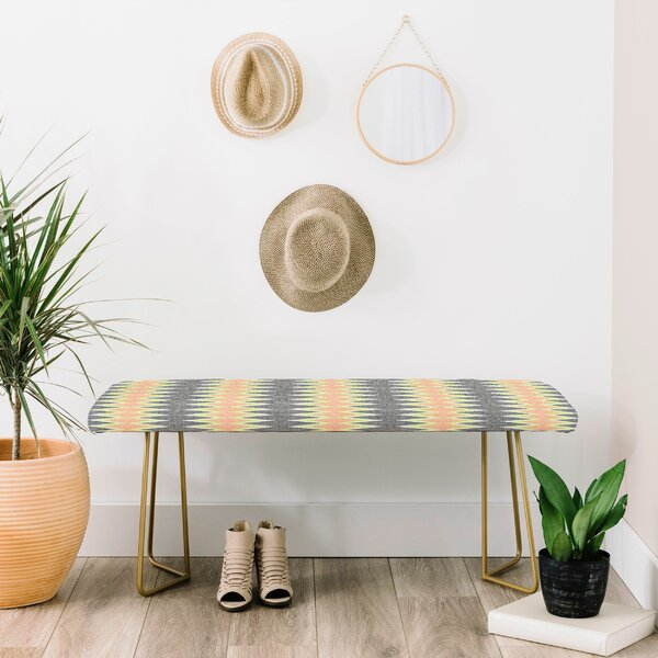 Schatzi Upholstered Bench by East Urban Home