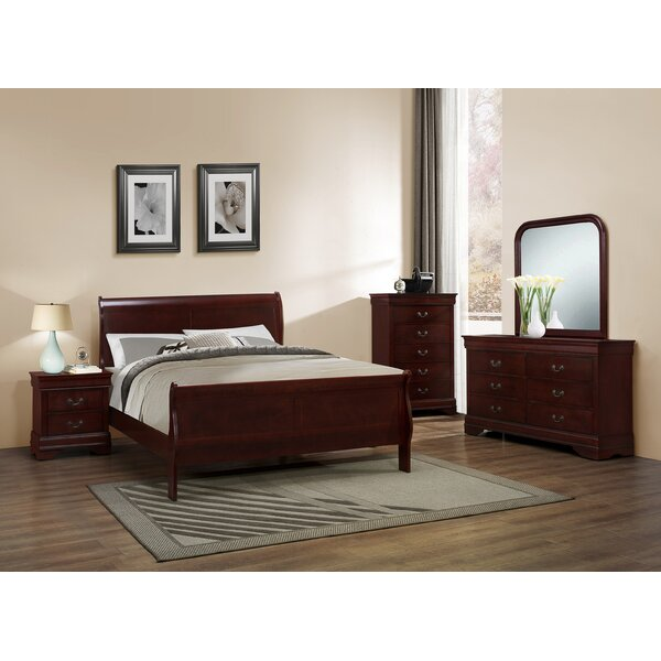 Braiden Sleigh Configurable Bedroom Set by Charlton Home