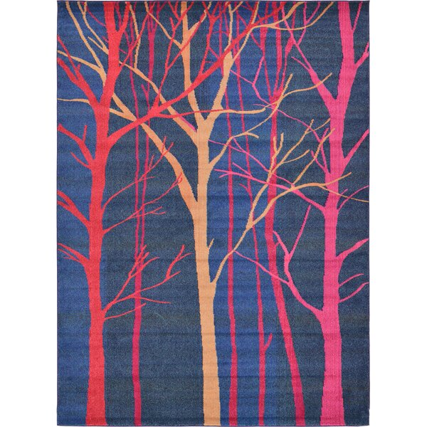 Roshan Blue Area Rug by Bungalow Rose
