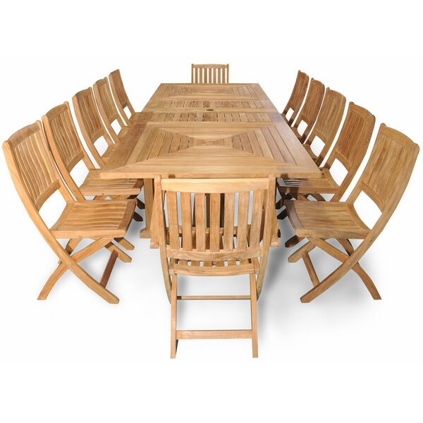 Sanibel Grand Teak 13 Piece Dining Set by Regal Teak