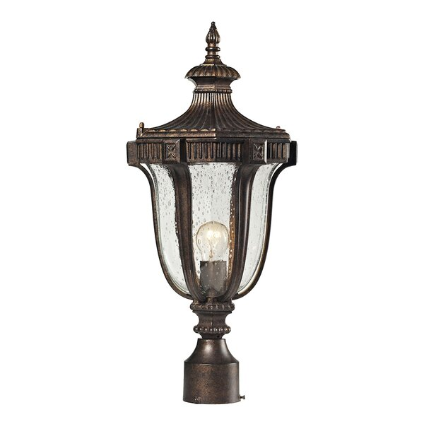 Alpert 1-Light Lantern Head by Astoria Grand