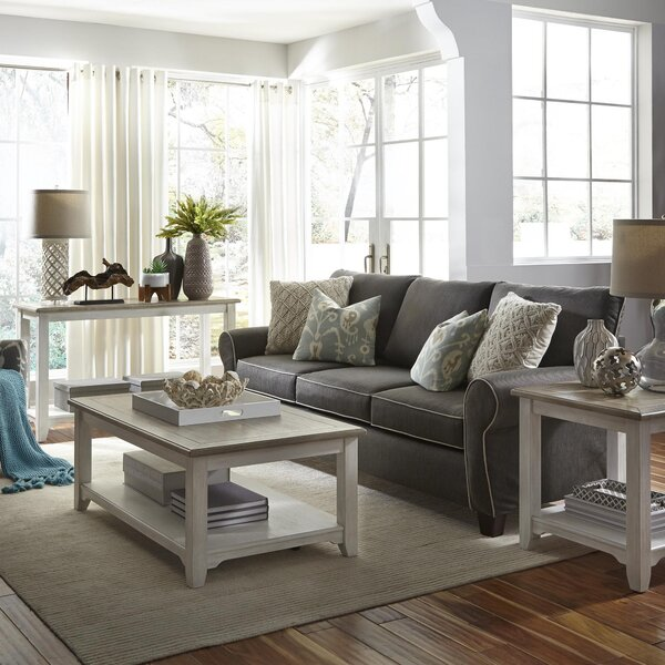 Dunstable 3 Piece Coffee Table Set by Canora Grey