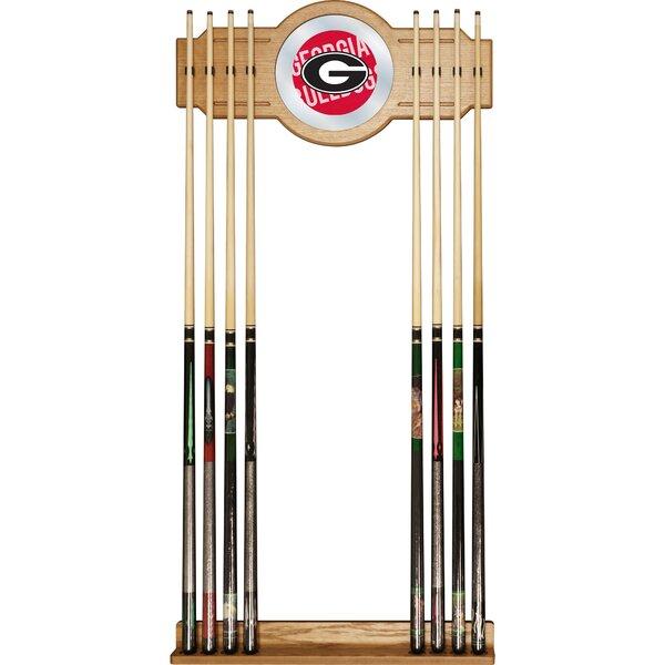 NCAA University of Georgia Wall Cue Rack by Trademark Global