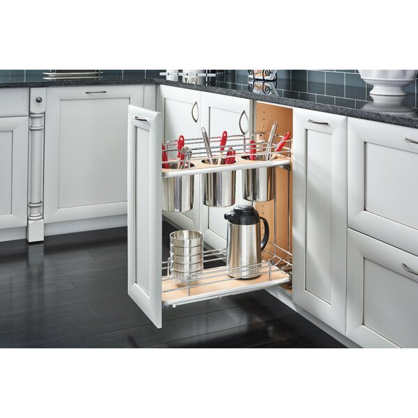 2 Tier Utility Pull Out Pantry by Rev-A-Shelf