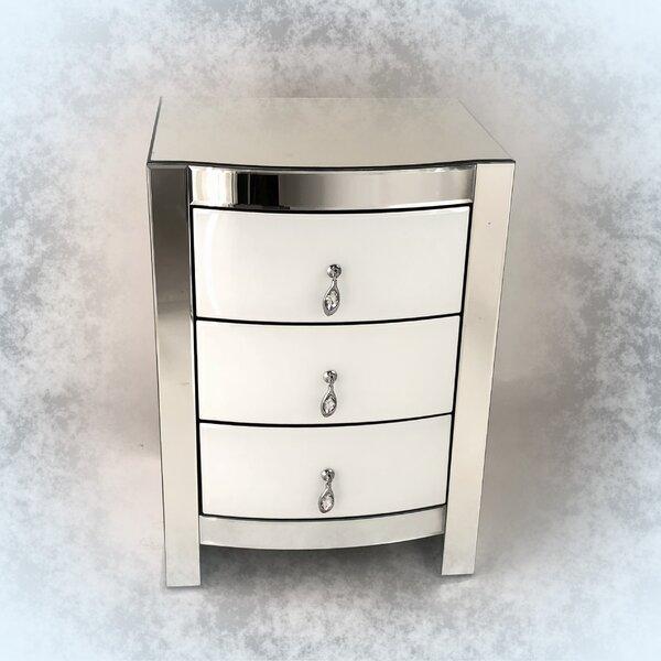 Neelyville 3 Drawer Nightstand by Rosdorf Park