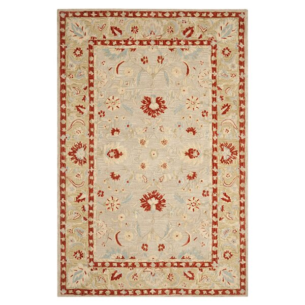 Anatolia Ivory/Green Area Rug by Safavieh