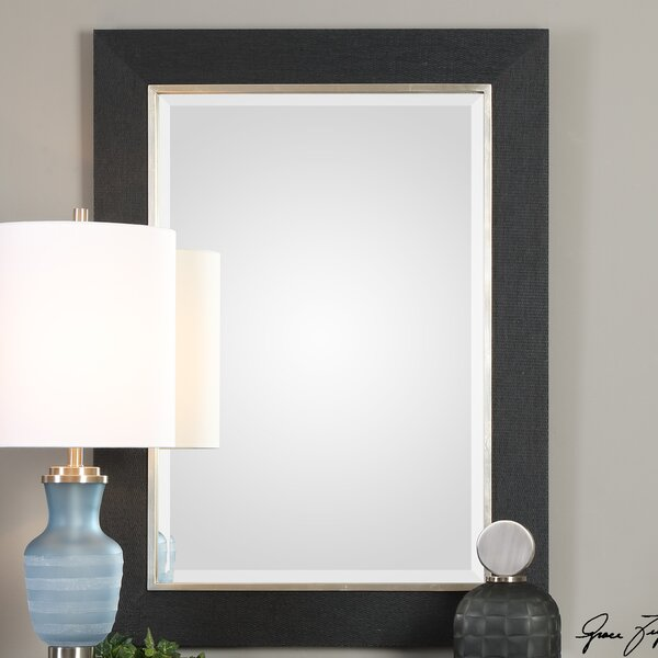 Carlos Kaira Textured Accent Mirror by House of Hampton