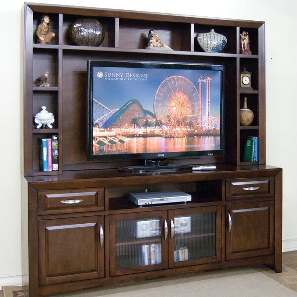 Cappuccino Entertainment Center by Sunny Designs