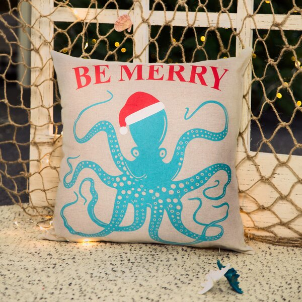 Octopus Pillow Cover by Glitzhome