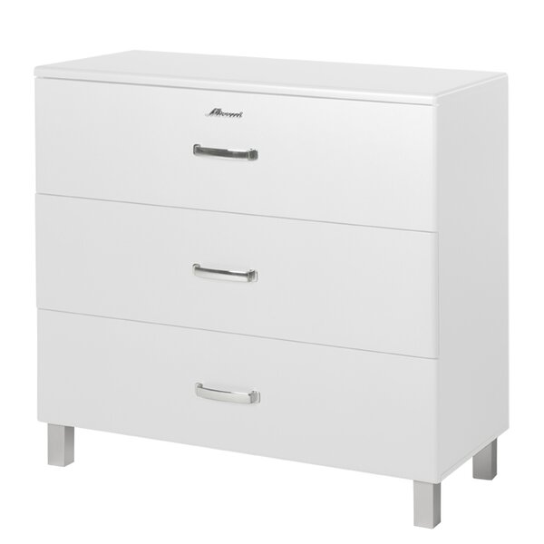 Miami 3 Drawer Accent Chest by Phoenix Group AG