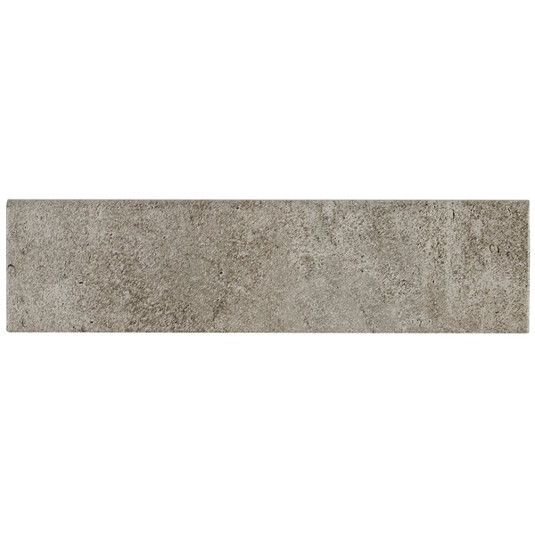 Avondale 12 x 3 Ceramic Bullnose Tile Trim in Cast