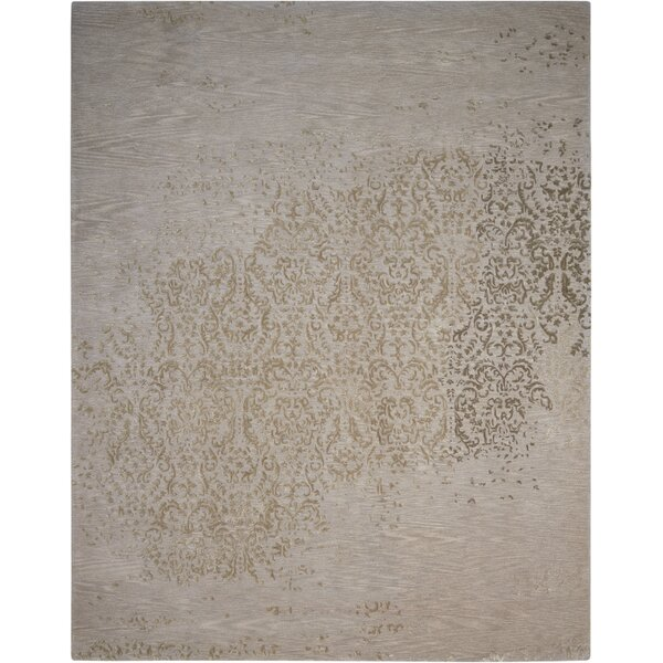 Hadley Hand-Woven Silver Area Rug by Darby Home Co