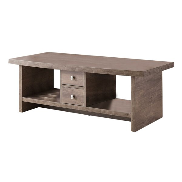 Mayon Coffee Table with Storage by Union Rustic Union Rustic
