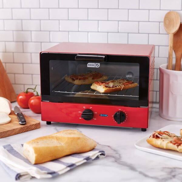 0.4 Cu. Ft. Compact Toaster Oven by DASH
