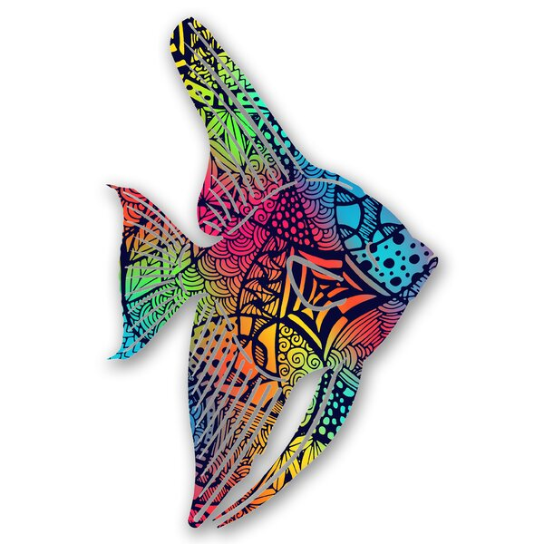 Steel Santiago Tetra Fish 3D Wall Decor by Bay Isle Home