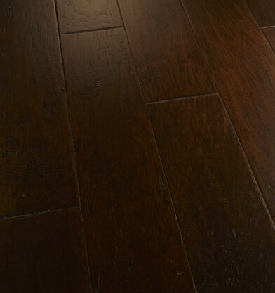 Penultimate 7 Manufactured Wood Hickory Hardwood Flooring in Zestful by Albero Valley